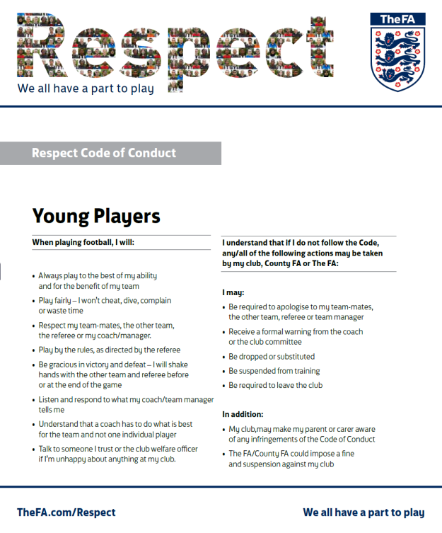 Respect - Young players