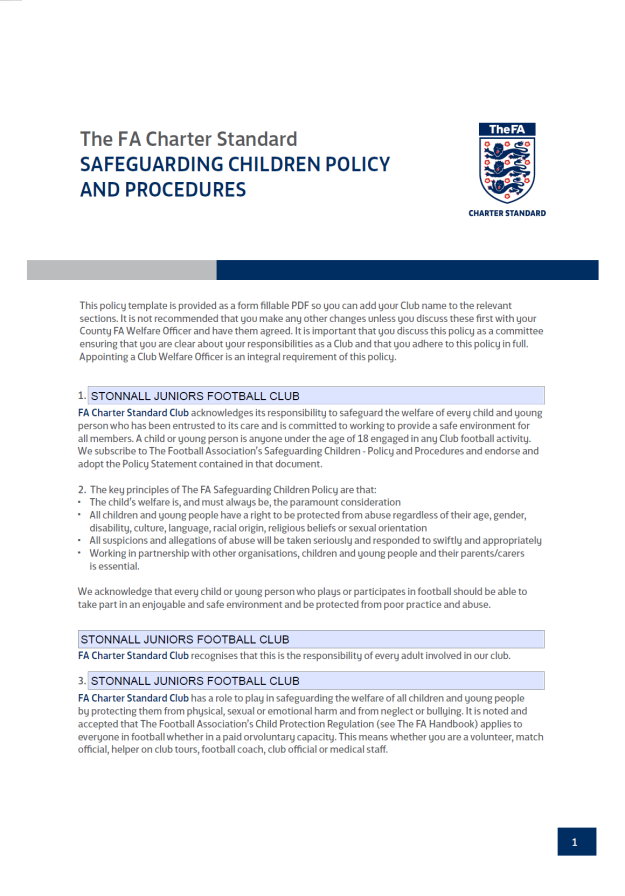 Safeguarding Children Policy p1