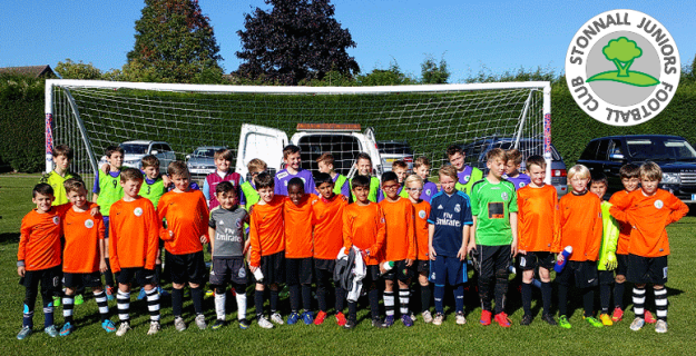 Stonnall Juniors FC players - Sept. 2015