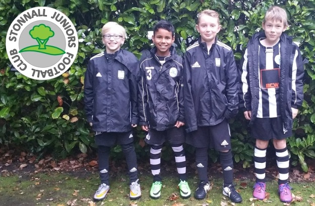 Stonnall Juniors U10s - Coerver 3v3 team
