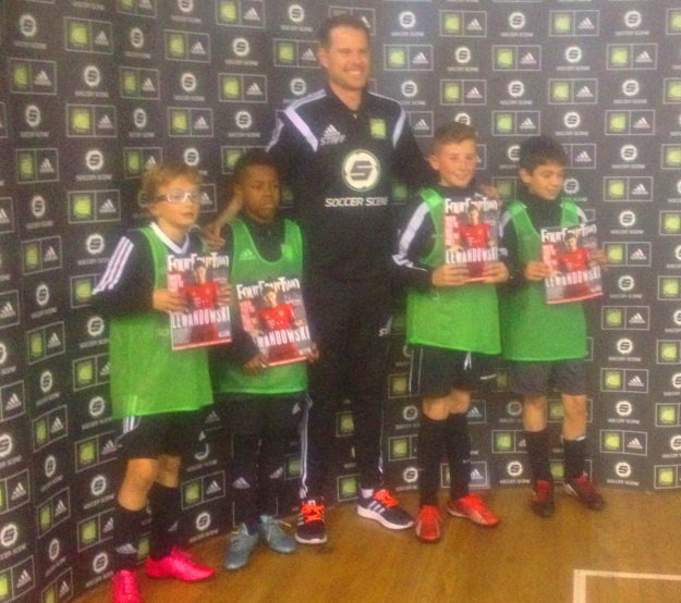 Stonnall Juniors U12s - Coerver 3v3 team