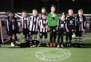 Stonnall Juniors U10s at their team Coerver session.
