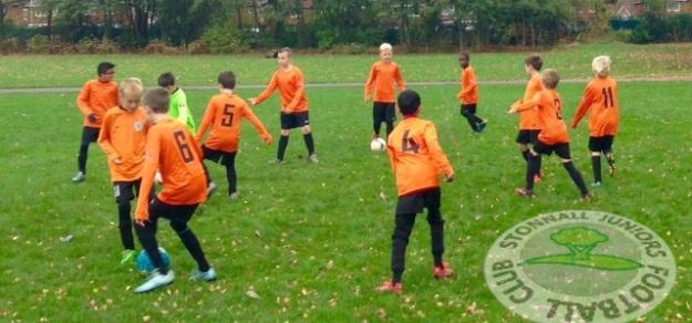 Sporting Stonnall U10s