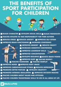benefits of sport for children